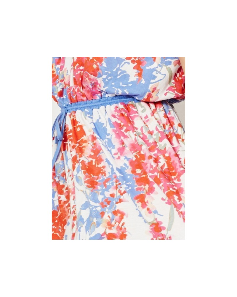 Vestito lungo Florinda in bambù Braintree. Flower