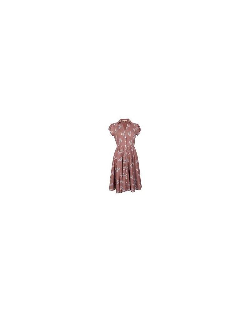 Vestito vintage in cotone equo anni '50 nomads