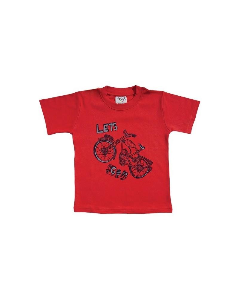 T-shirt Frugi bici manica corta per bambino
