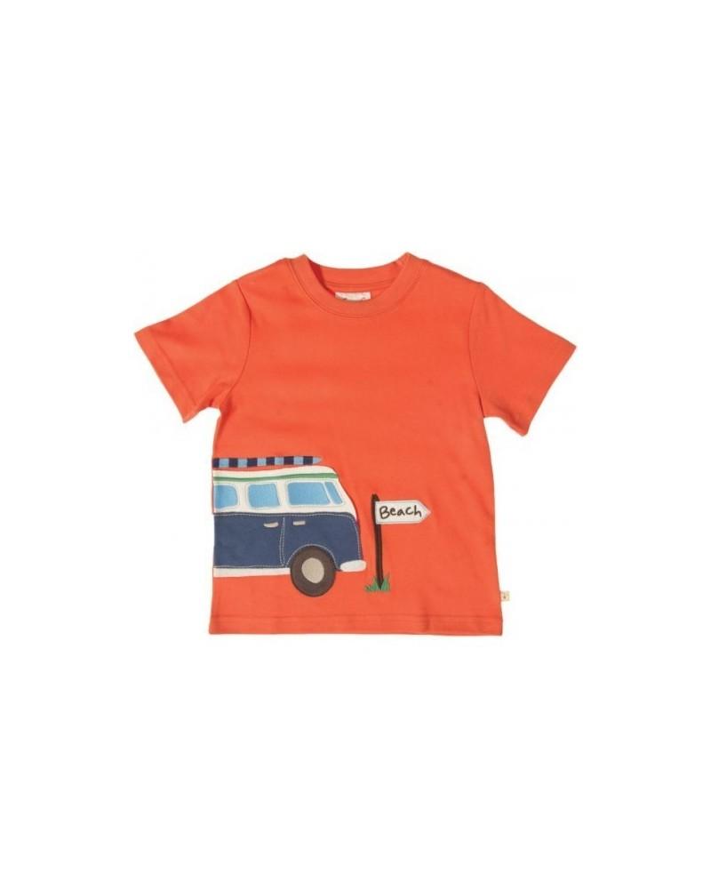 T-shirt Frugi van manica corta per bambino