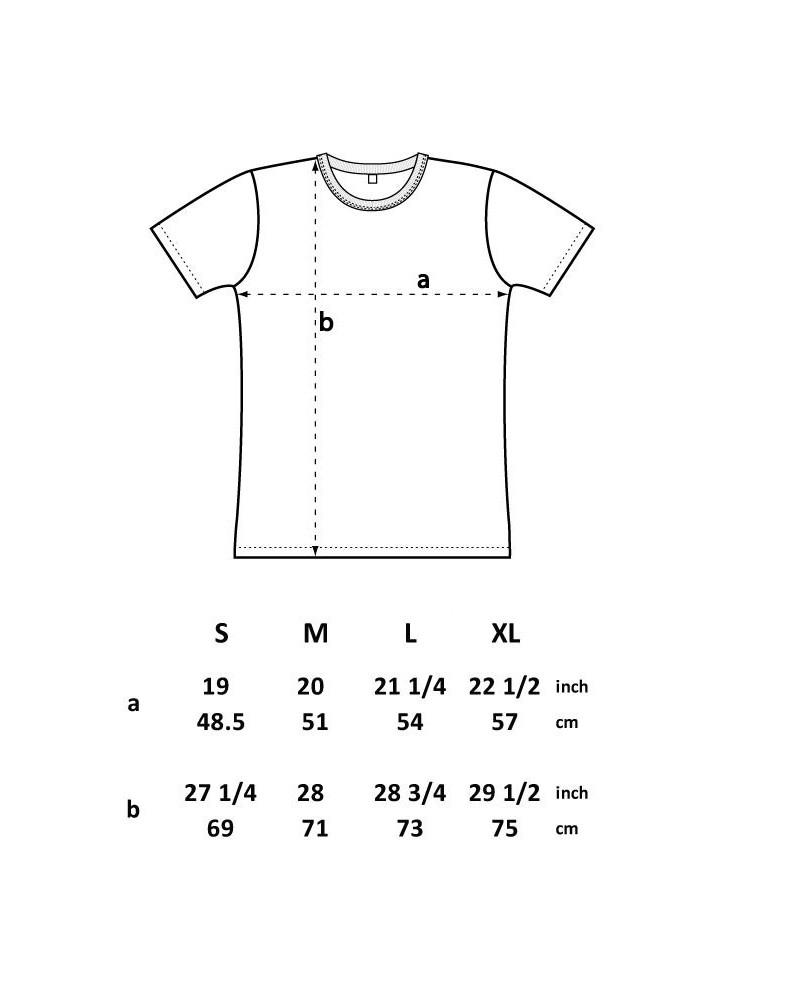 T-shirt uomo in cotone biologico mod. slim.