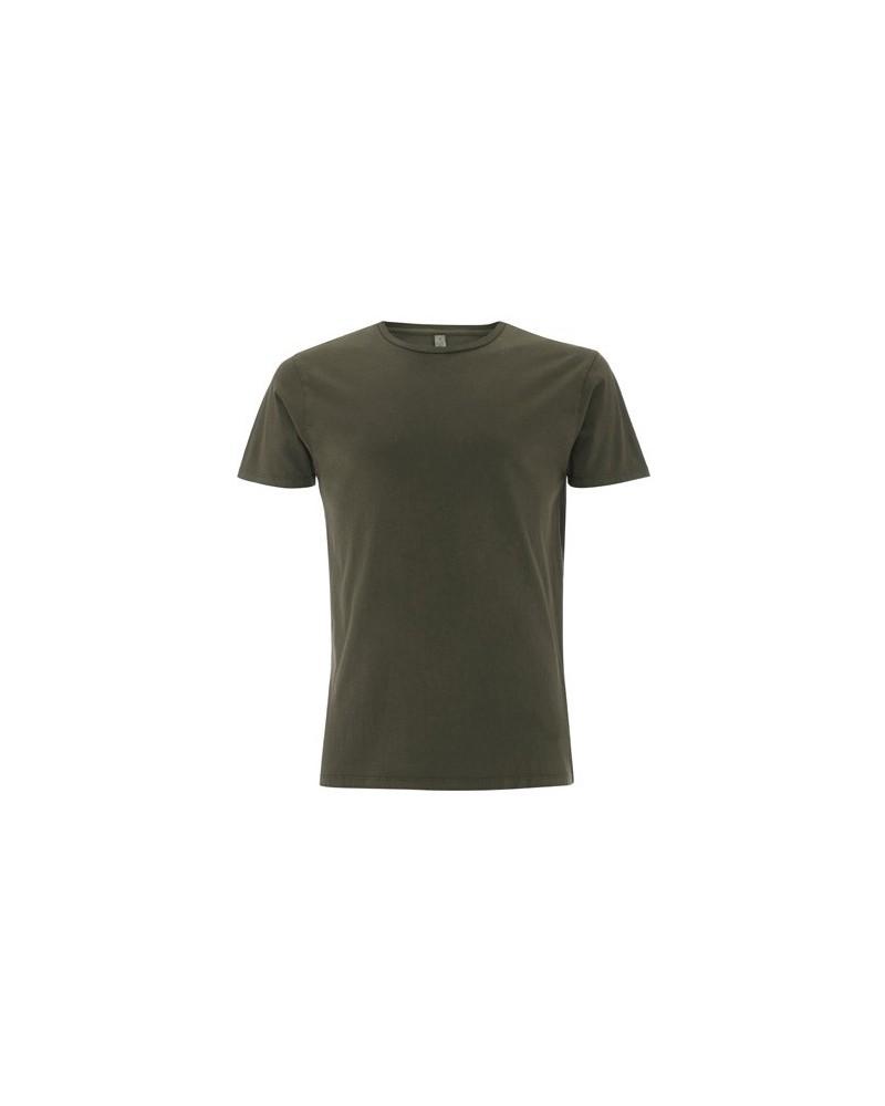 T-shirt uomo in cotone biologico tinto in capo.