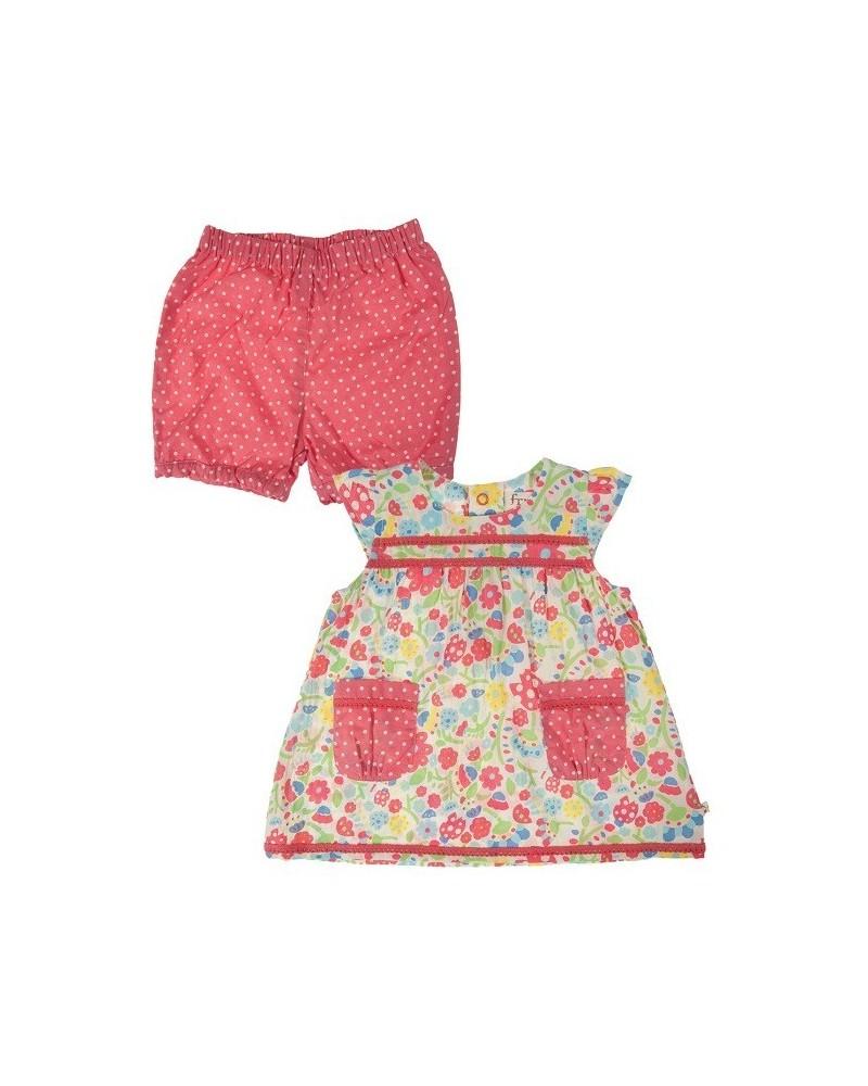 Maglia Frugi con pantaloncini per bambina