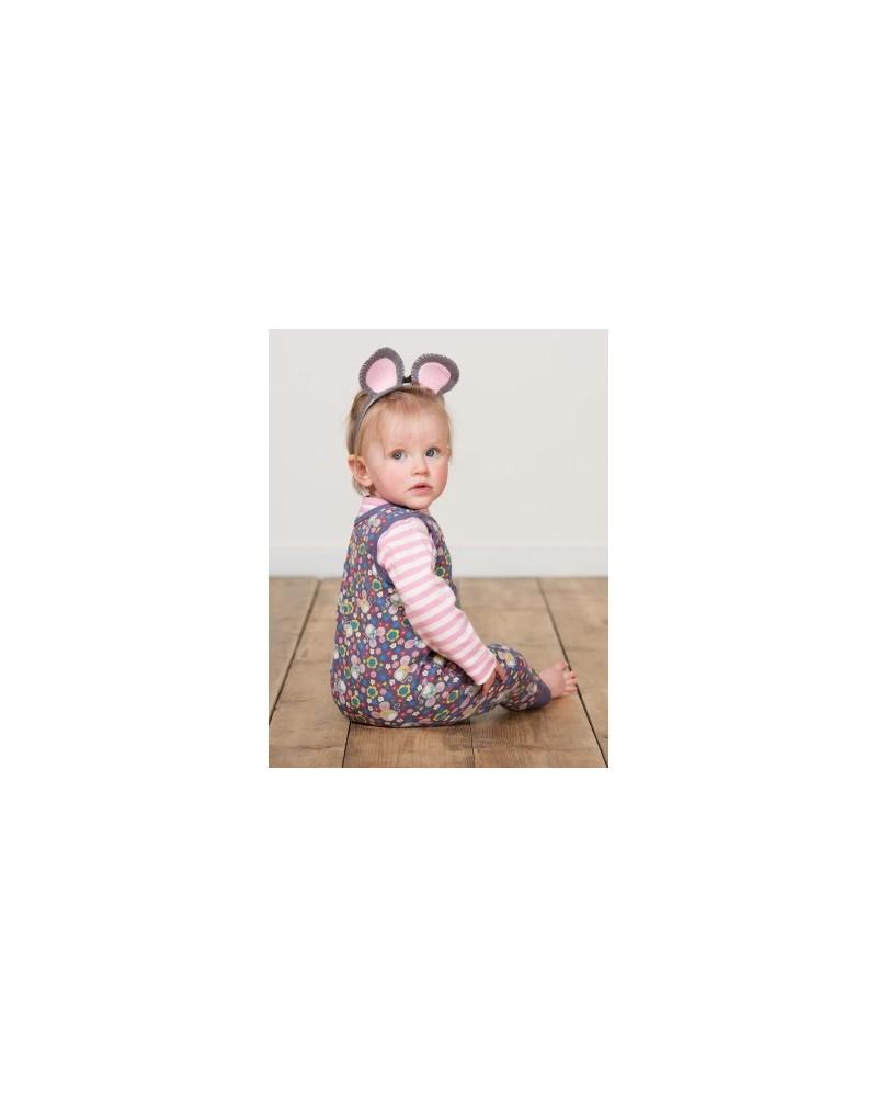 Body bambina manica lunga in cotone organico mod Lerryn