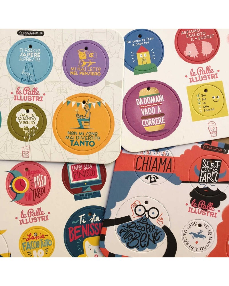 Le Palle illustri 24 pezzi DESIGN IRONICO