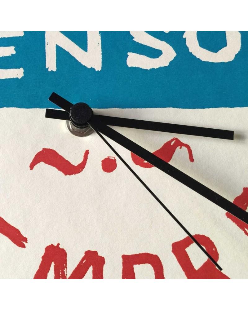 Orologio in cartone riciclato Ti penso sempre DESIGN IRONICO