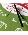Orologio in cartone riciclatoLunedì inizio la dieta DESIGN IRONICO