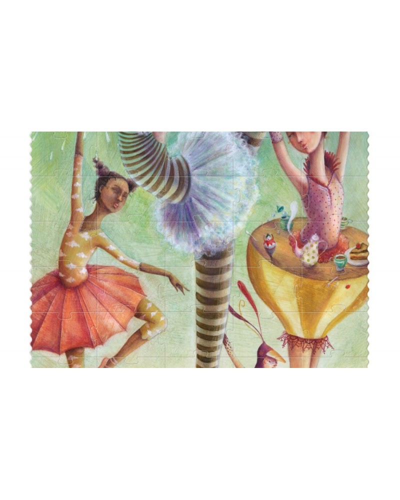 Puzzle Io sono una ballerina Eco-Friendly