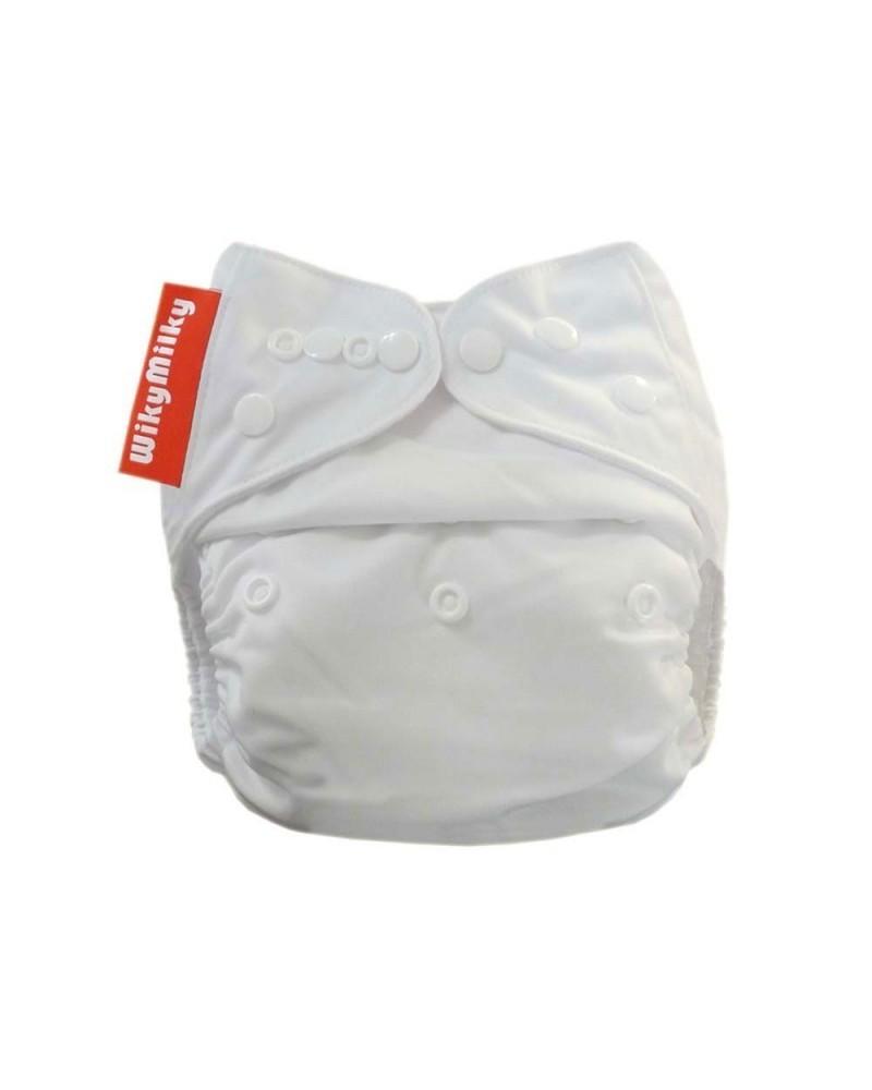 Kit pannolini lavabili in microfibra con due inserti assorbenti. In omaggio la borsa grande e veli cattura pupù PROMO -2