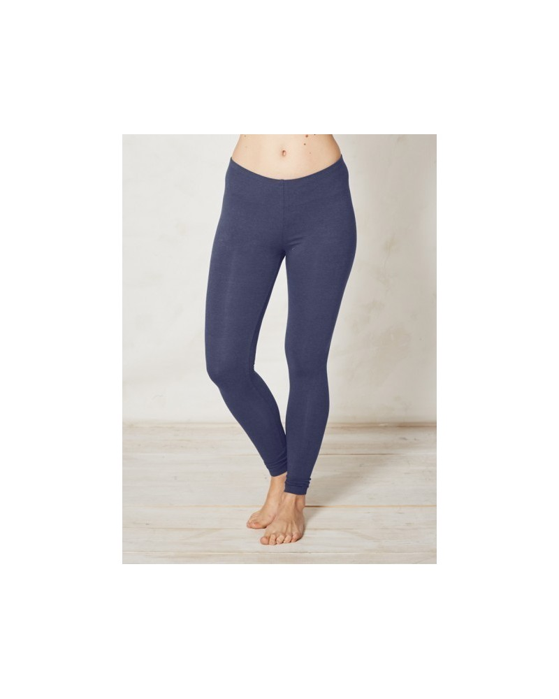 Leggings in bambù tinta unita Braintree Blu denim