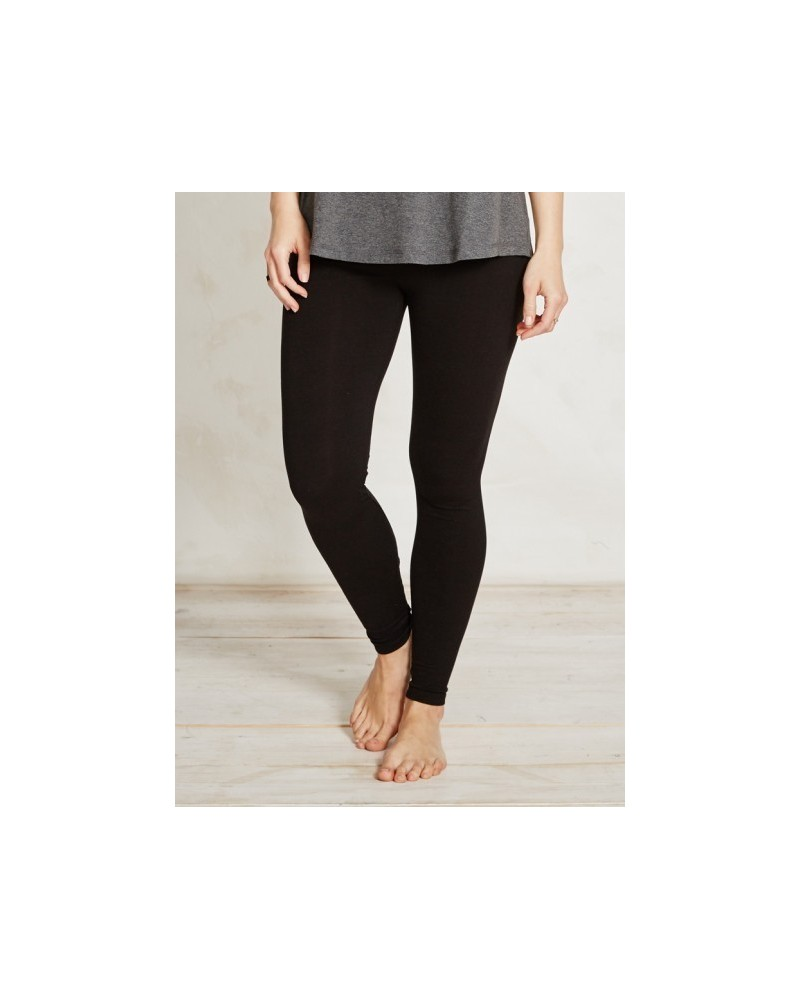 Leggings in bambù tinta unita Braintree Nero