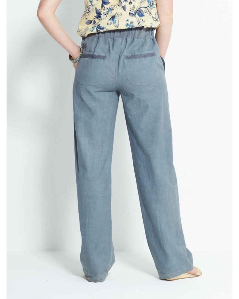 Pantalone in cotone equosolidale Silver