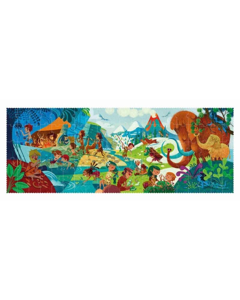 Puzzle ecologico per bambini Prehistory Londji