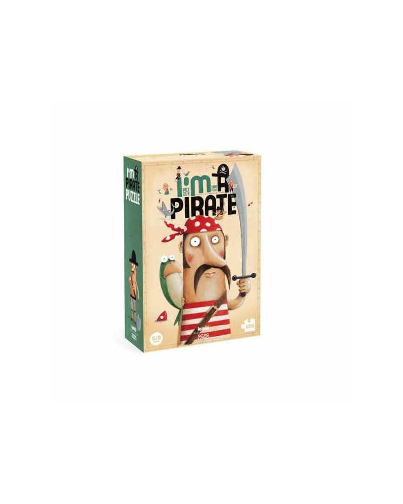 Puzzle Londji ecologico per bambini Pirati