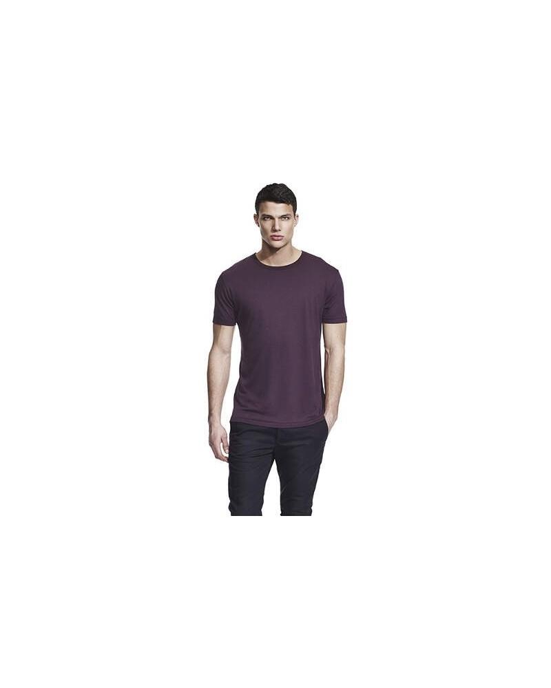 T-shirt uomo in bambù blu