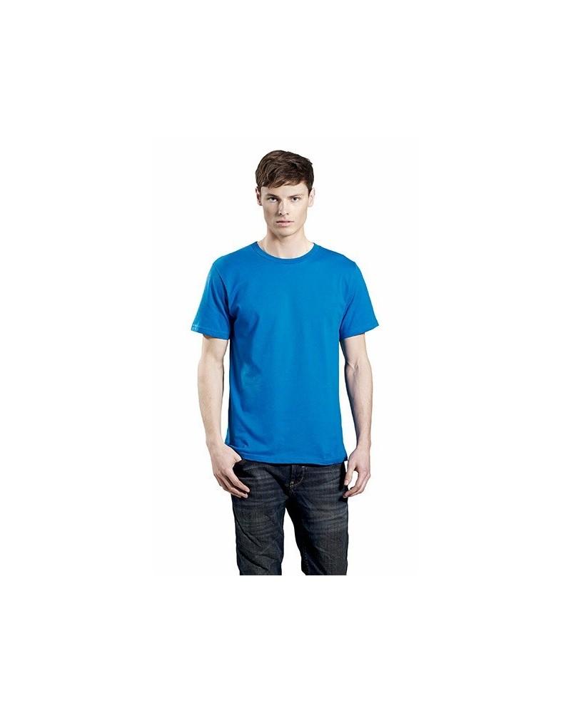 T-shirt uomo in cotone biologico. Prodotto ecologico. Rosso scuro