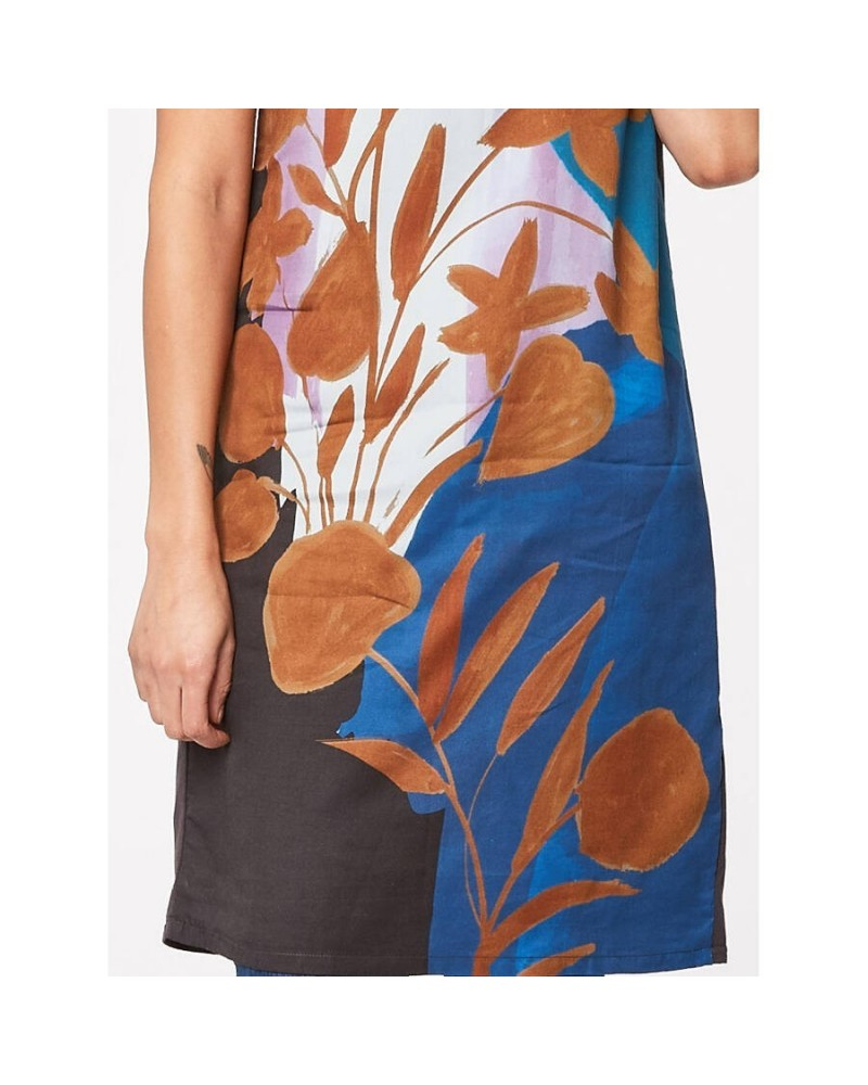 Vestito in tencel con stampa floreale. Thought