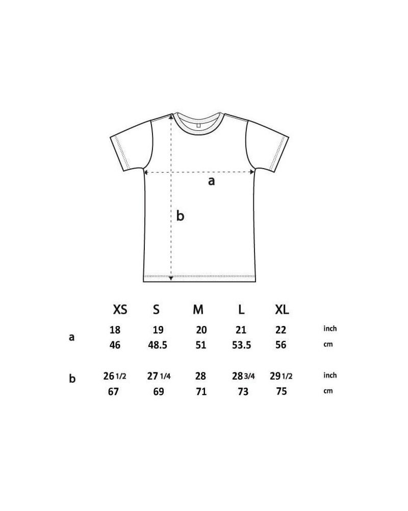 T-shirt slim uomo in cotone biologico. Prodotto ecologico.
