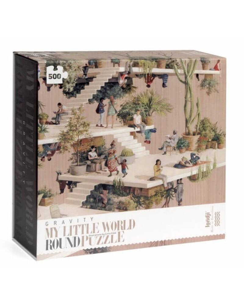 Puzzle GRAVITY 500pz Londji. Prodotto ecologico.