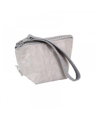 Astuccio grigio in fibra di cellulosa riciclata, prodotto ecologico Essent\'ial.