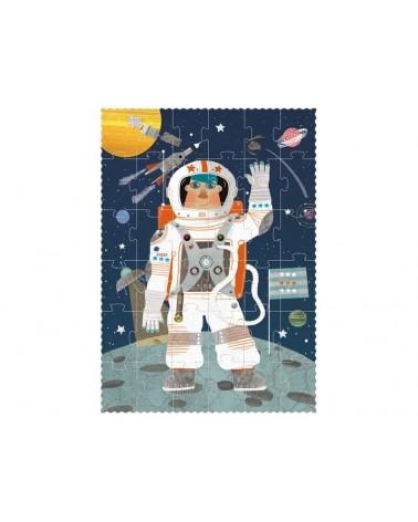 Puzzle londji per bambini Astronauta. Cartone riciclato