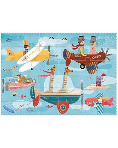 Puzzle londji per bambini Volare. Cartone riciclato