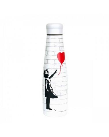 Borraccia termica in acciaio inossidabile Girl with Baloon.