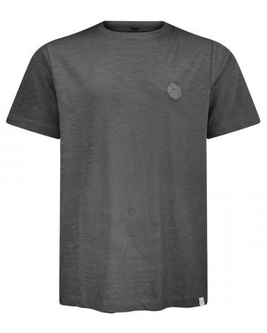 T-shirt uomo in cotone biologico antracite, Komodo.