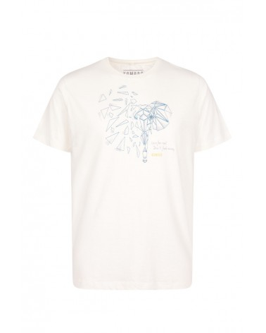 T-shirt uomo in cotone biologico elephant, Komodo.