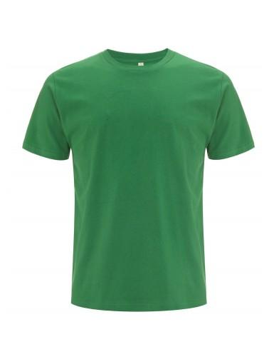 T-shirt uomo verde in cotone biologico. Prodotto ecologico