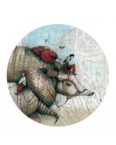 Puzzle circolare Avec Taotu 500pz Londji. Prodotto ecologico.