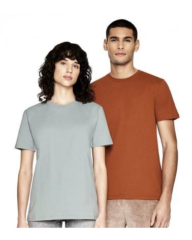 T-shirt uomo arancione in cotone biologico. Prodotto ecologico
