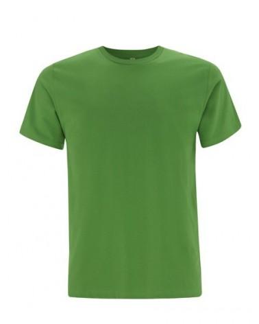 T-shirt uomo verde chiaro in cotone biologico. Prodotto ecologico
