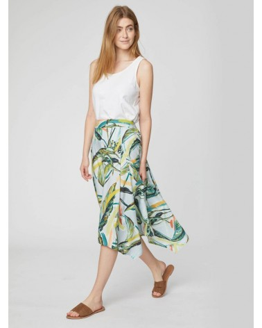 Gonna estiva in tencel, banana print. Thought