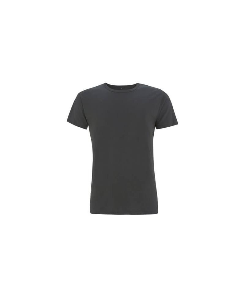 T-shirt uomo in bambù e cotone bio Antracite