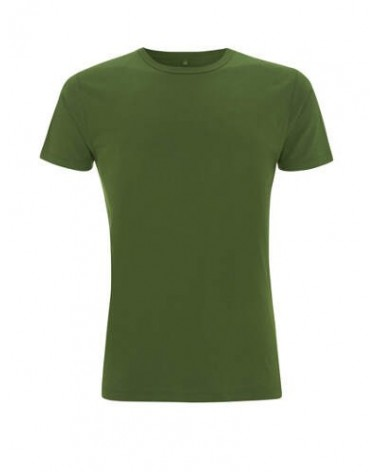 T-shirt uomo in bambù e cotone bio Verde