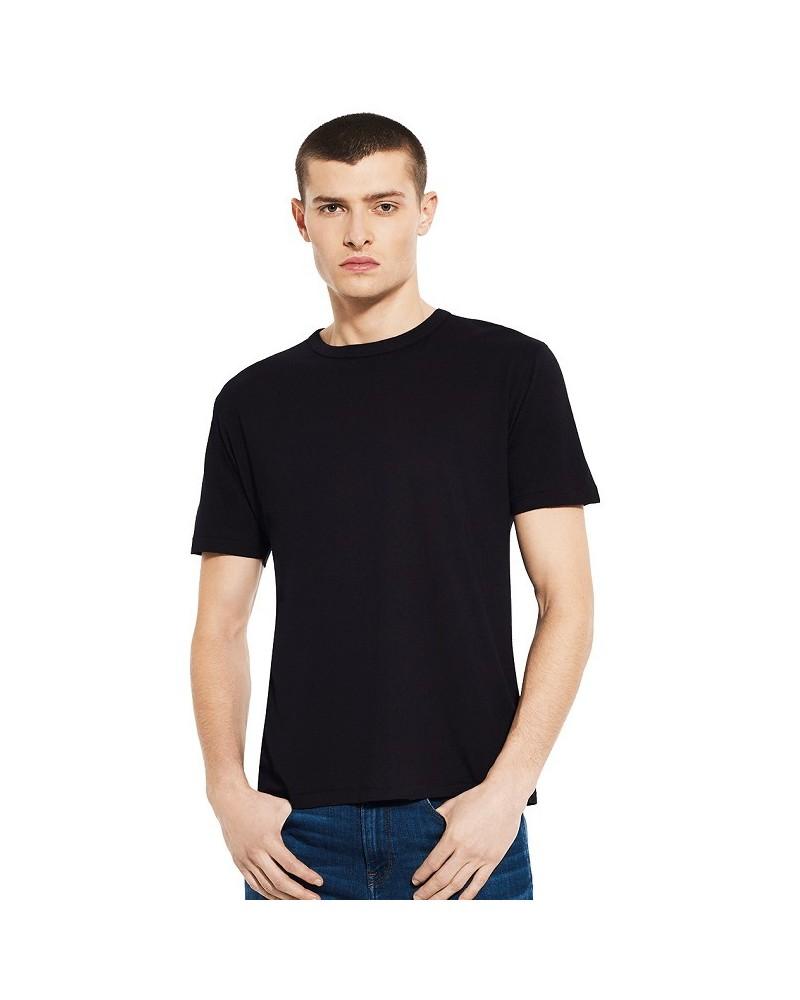 T-shirt uomo in bambù e cotone bio Blu denim