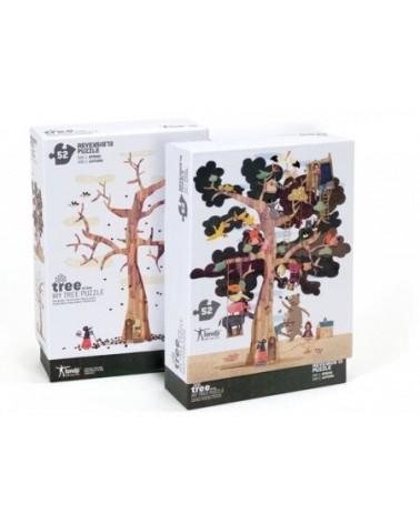 Puzzle londji per bambini My Tree. Cartone riciclato