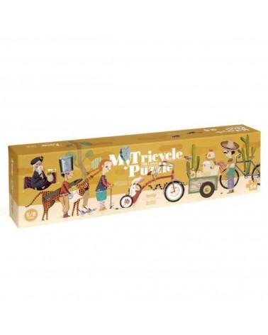 Puzzle ecologico per bambini Triciclo Londji