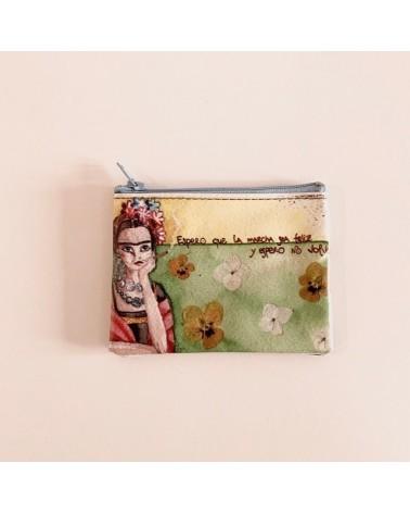 Portamonete ecologico riciclato espero Frida