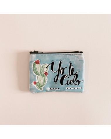 Portamonete ecologico riciclato Frida