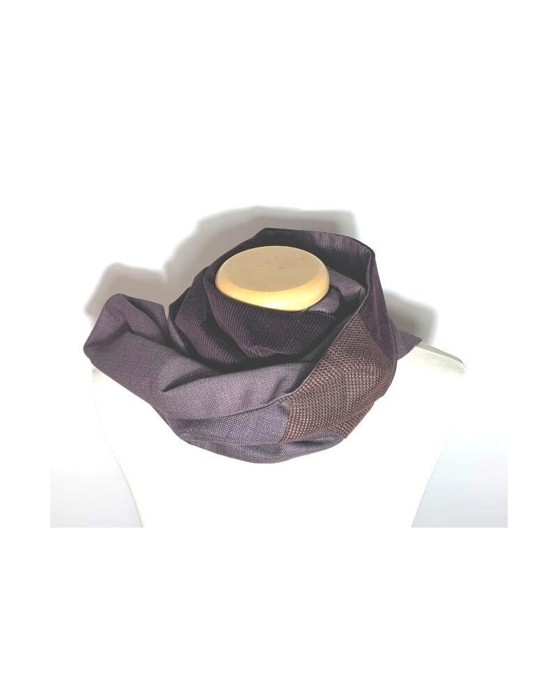 Sciarpa sartoriale con filati naturali pregiati. Made in Italy